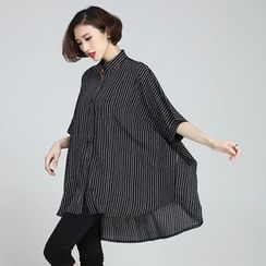 Flore - Striped Oversized Shirt