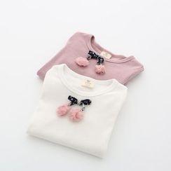 Seashells Kids - Kids Bow Detail Long-Sleeve T-Shirt