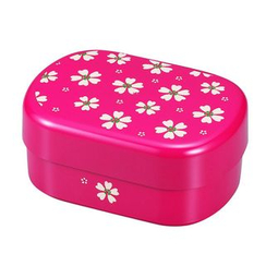 Hakoya - Hakoya Oval Picnic Lunch Box Red Sakura