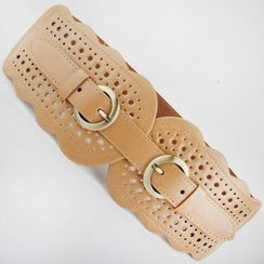 Goldenrod - Perforated Elastic Belt