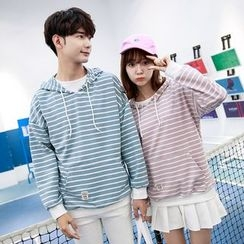 Sienne - Striped Couple Matching Hoodie