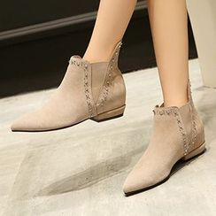 Gizmal Boots - Studded Ankle Boots