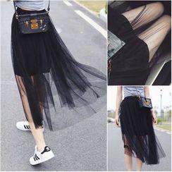 YOSH - Midi Tulle Skirt
