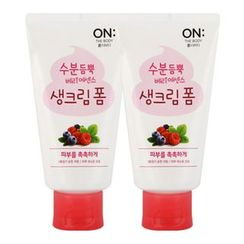 ON: THE BODY - Berry Essence Cream Foam (120g+120g)