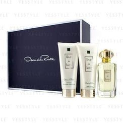 Oscar De La Renta - Live In Love Coffret: Eau De Parfum 100ml/3.4oz + Body Lotion 100ml/3.4oz + Body Wash 100ml/3.4oz