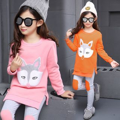 Pegasus - Kids Set: Fleece Sweatshirt + Pants
