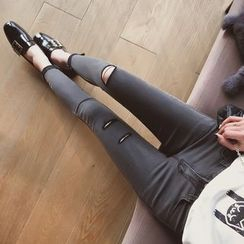 Cocofield - Distressed Skinny Jeans