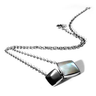 Kamsmak - Squared MOP Necklace