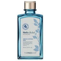 The Face Shop - Herb Relief Homme Oil Control Skin 150ml