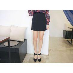 Envy Look - Zip-Side Dual-Pocket Mini Skirt