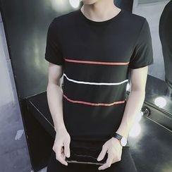 JVR - Short-Sleeve Striped T-Shirt