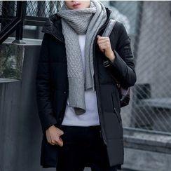 Bay Go Mall - Plain Down Coat