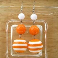 Fit-to-Kill - Orange sailing Earrings