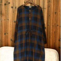 tete - 格紋連衣裙
