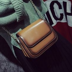 Youshine - Chain Strap Boxy Crossbody Bag