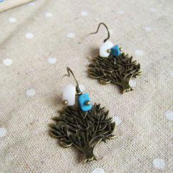 MyLittleThing - Sweet Little Copper Trees Earrings