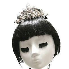 Paparazzi - Floral Hair Clip