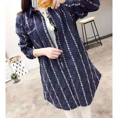 Waypoints - Patterned Long Shirt
