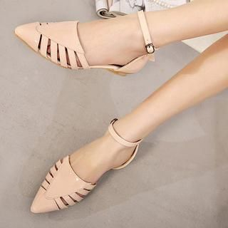 Mancienne - Strappy Pointy Sandals