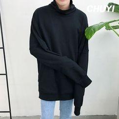 Chuoku - Mock Neck Pullover
