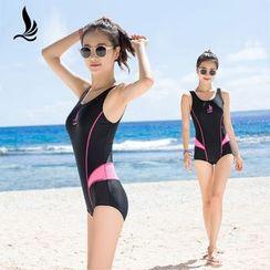 SANQI - Panel Swimsuit