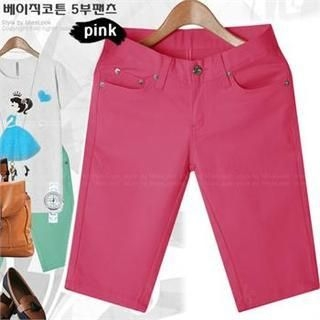 Miss Look - Colored Cropped Pants