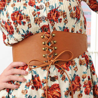 59 Seconds - Lace-Up Belt