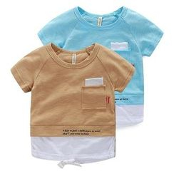 WellKids - 儿童撞色T恤