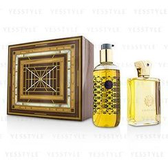 Amouage - Jubilation XXV Coffret: Eau De Parfum Spray 100ml/3.4oz + Bath and Shower Gel 300ml/10oz