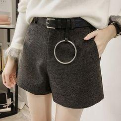 Little V - Wide Leg Shorts with Belt