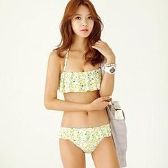 Tamtam Beach - Ruffled Printed Bikini