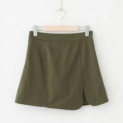 Meimei - Plain A-Line Skirt