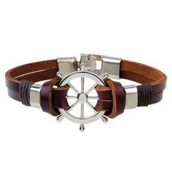 KINNO - Ship's Wheel Bracelet