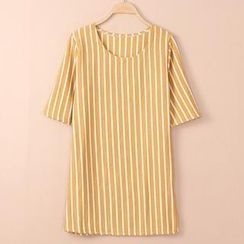 QZ Lady - Short-Sleeve Striped T-Shirt