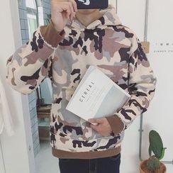 JUN.LEE - Camouflage Hoodie