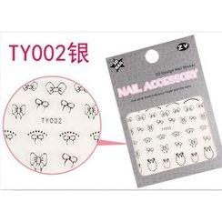 Benlyz - 3D Nail Sticker (TY-2S)