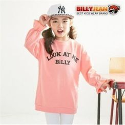 BILLY JEAN - Kids Lettering Top