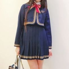 Rega - 2-Piece School Uniform Party Costume