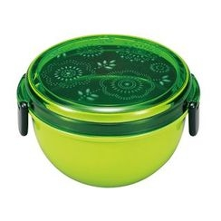 Miyamoto Sangyo - Mod mode Bowl Lunch Box (GR Flower )