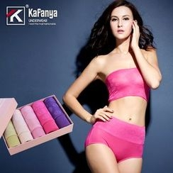 Kafanya - Set of 5: Panties