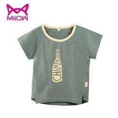 MiiOW - Kids Printed Short-Sleeve T-Shirt