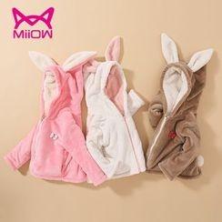 MiiOW - Kids Rabbit Ear Hooded Jacket