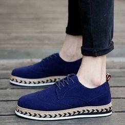 HANO - 麻底牛津鞋
