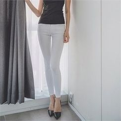 ERANZI - Plain Skinny Pants