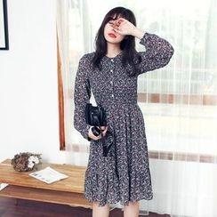 Tokyo Fashion - Printed A-Line Dress