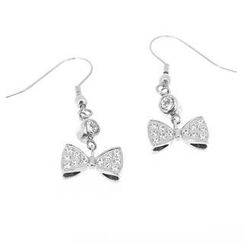 COSI MODA - Steel Earrings with Cubic Zirconia