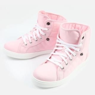 K-Style - Canvas High-Top Sneakers