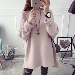 Poppy Love - Plain Long Sweater