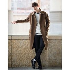 STYLEMAN - Wool Blend Oversized Coat