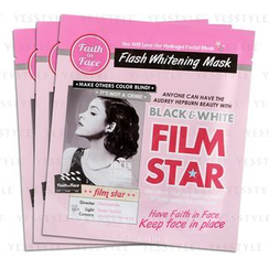 Faith in Face - Black and White Film Star Hydrogel Mask